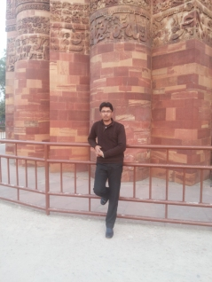 The beautiful Qutub MinarThe beautiful Qutub Minar