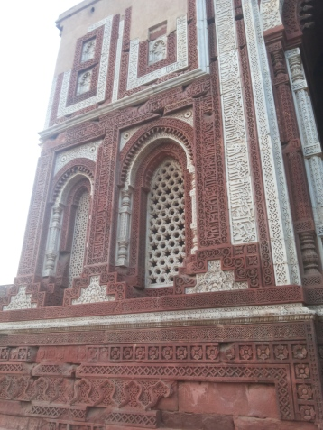 A building near Qutub Minar