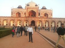 Glimpses of my visit at Humayun Tomb Delhi